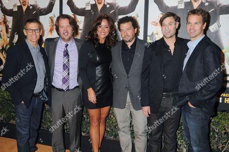 Michael Lombardo, Steve Little, Katy Mixon and Jody Hill