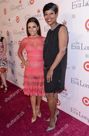 Stock Photo of Eva Longoria and Laysha Ward