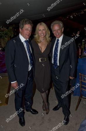 Hugh Grant with Kathrin Nicholson and Don Felder