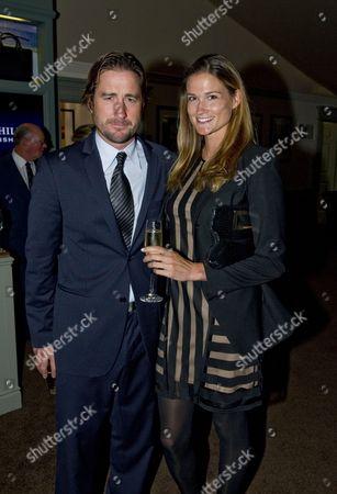 Stock Picture of Luke Wilson and Meg Simpson