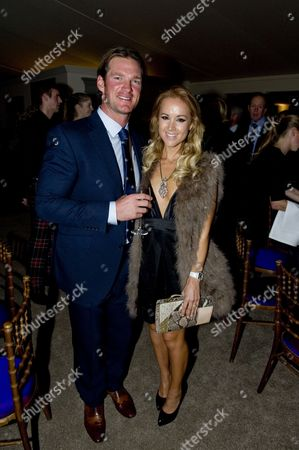 Stock Image of Liam Botham and wife Lisa Harrison