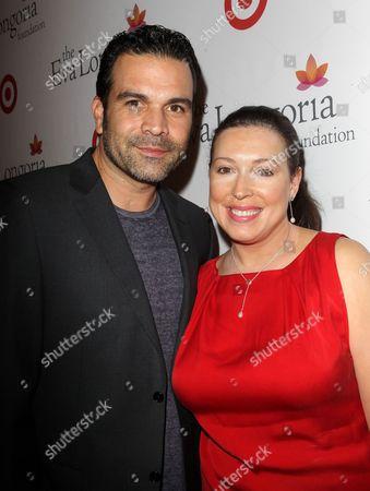 Stock Picture of Ricardo Antonio Chavira and Marcea Dietzel