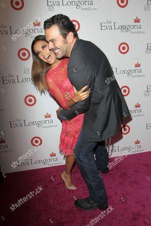Stock Image of Eva Longoria and Ricardo Antonio Chavira