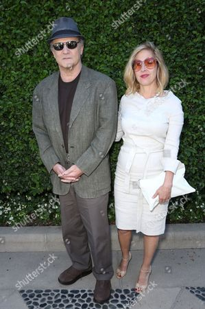 Albert Brooks and Kimberly Shlain