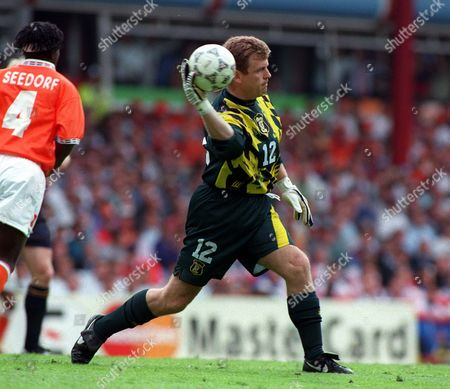 Andy Goram (Scotland) Scotland v Holland European Championships Villa Park 10/06/1996 Great Britain Birmingham