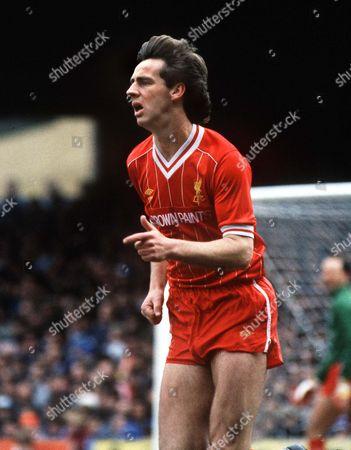 Jim Beglin (Liverpool) Ipswich v Liverpool 27/4/85 Great Britain Ipswich Ipswich 0 Liverpool 0
