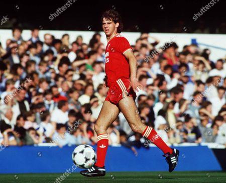 Stock Image of Jim Beglin (Liverpool) Queens Park Rangers v Liverpool 18/8/93 Great Britain London QPR 1 Liverpool 3