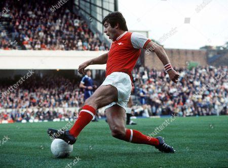 Malcolm MacDonald (Arsenal) Arsenal v Chelsea 16/4/79 Great Britain London Arsenal 5 Chelsea 2