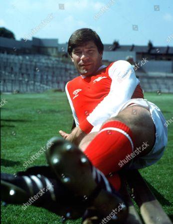 Malcolm MacDonald (Arsenal) 1979 Great Britain London