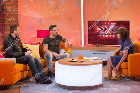 Dan Wootton and Joseph Whelan with Lorraine Kelly
