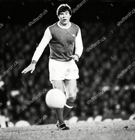 Malcolm MacDonald - Arsenal Arsenal v Manchester City (League Cup Qtr Finals) 24/1/78 Great Britain London Lge Cup QF Replay: Arsenal 2 Man City 1
