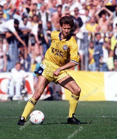 Jim Beglin (Leeds) Bournemouth v Leeds United 5/5/90 Great Britain Bournemouth Bournemouth 0 Leeds Utd 1