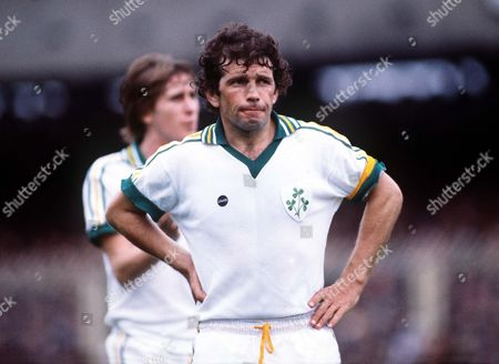 Johnny Giles (Rep) Republic of Ireland v Northern Ireland 20/9/78 Great Britain Liverpool Rep of Ireland v N Ireland