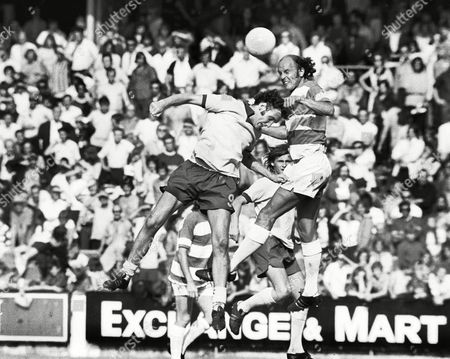 Terry Mancini - QPR QPR v Southampton 25/8/73 Great Britain London QPR v Southampton
