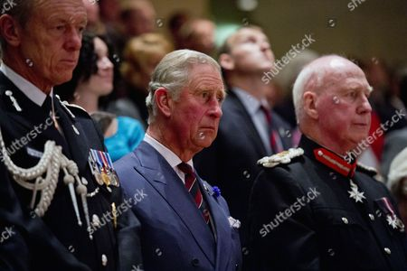 Editorial photo of National Police Memorial Day at St David's Hall, Cardiff, Wales, Britain - 29 Sep 2013