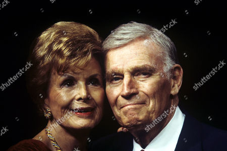 Lydia Clarke and Charlton Heston