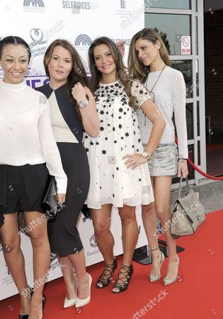Kaya Hall, Nicky Pike, Daniela Martins and Misse Beqiri