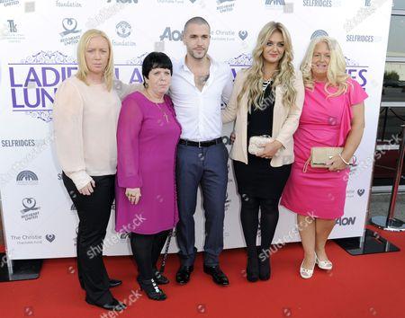 Shayne Ward, family and Faye Mckeever
