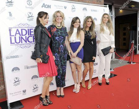 Stock Photo of Ana Vidic, Lisa Carrick, Georgina Dorsett and Hayley Fletcher