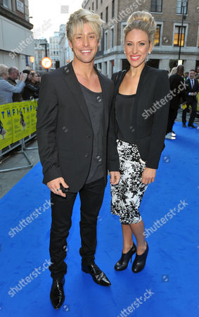 Stock Photo of Mitch Hewer and sister
