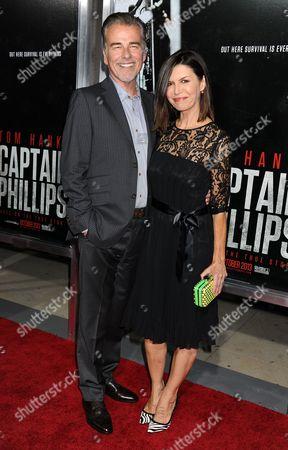 Finola Hughes and Ian Buchanan