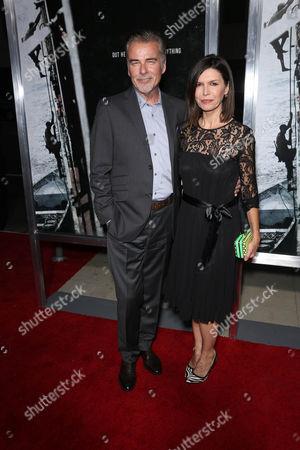 Stock Photo of Ian Buchanan and Finola Hughes