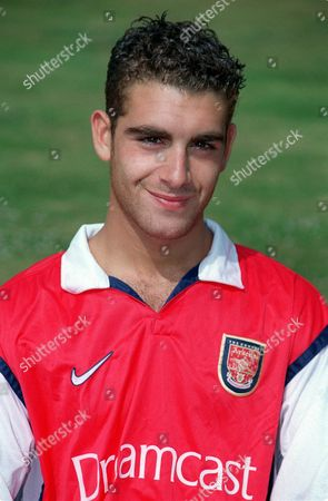 Omer Riza - Arsenal Youth Squad 30/7/99 Great Britain London Arsenal Youth Squad
