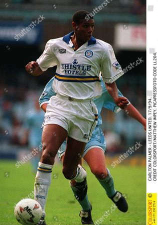 CARLTON PALMER - LEEDS UNITED 17/9/94 Great Britain Coventry City