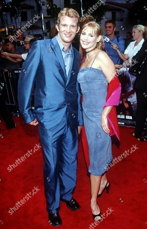 Olivia D'Abo with Thomas Jane