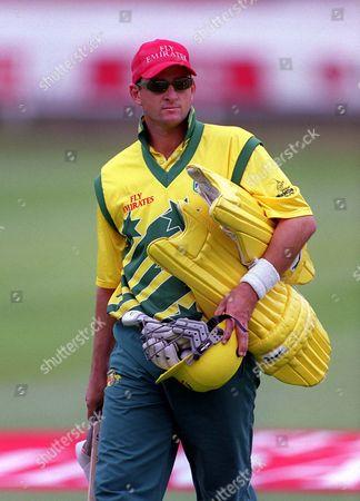 Mark Waugh (Australia) Net Session Lords Cricket Ground 19/06/1999 Great Britain London
