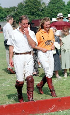 PRICE CHARLES AND EMMA TOMLINSON AT THE BEAUFORT POLO CLUB