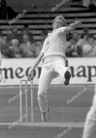 Graham Dilley - England England v Australia 1st Test at Trent Bridge 1981 Great Britain Leeds 1981 Ashes: 1st Test at Trent Bridge