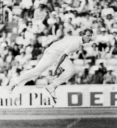 Graham Dilley - England England v India 1982 Great Britain