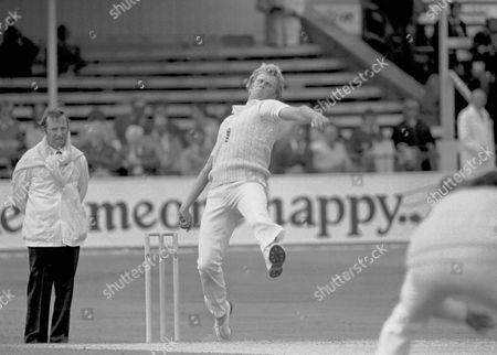 Graham Dilley - England England v Australia 1st Test at Trent Bridge 1981 Great Britain Nottingham 1981 Ashes: 1st Test at Trent Bridge