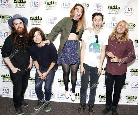 Editorial photo of Group Love at Radio 104.5 Performance Theater, Bala Cynwyd, Pennsylvania, America - 30 Sep 2013