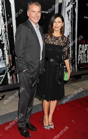 Ian Buchanan and Finola Hughes