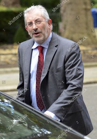 Sir Bob Kerslake The Head Of The Civil Service Leaving No10 This Morning 18/09/12.