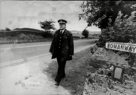 Pc Paul Dugdale Near The Spot Where The Monocled Mutineer Percy Toplis Was Shot Dead In Plumpton The Scene Of The 1920 Roadside Encounter Near Plumpton Cumberland Between The Penrith Police And Percy Toplis Which Ended In The Fugitive Being Shot Dead Francis Percy Toplis (20 August 1896 Oo 6 June 1920) Was A British Criminal And Imposter Active During The First World War. He Is Sometimes Claimed To Have Taken A Major Part In The Aetaples Mutiny From 9 - 12 September 1917 As 'the Monocled Mutineer' During The War Although There Is No Evidence He Was Actually Present And Official Records Show That Toplis' Regiment Was En Route To India During The Aetaples Mutiny. No Evidence Exists To Show That Toplis Was Absent From His Regiment. However Neither Is There Evidence That Toplis Ever Went To India Only Ever Getting As Far As Malta. It Is Therefore Contentious As To Whether He May Have Returned To Europe In Time To Participate In The Mutiny Toplis Went Awol Again On 24 April 1920. After 9.00 P.m. Taxicab Driver Sidney George Spicer Was Found Dead From A Gunshot Wound On Thruxton Down Near Andover. Toplis Was Seen In Bulford Camp Around 11.00 P.m. The Inquest Into George Spicer's Death Took Place In A Barn On Thruxton Down. The Jury Returned A Verdict Of 'wilful Murder' By Percy Toplis Foreshadowing The Possibility Of His Execution When Caught; It Was The First British Inquest In Modern Times To Declare A Man Guilty Of Murder In His Absence. Toplis Spent The Next Couple Of Weeks In London Posing As An Officer. The Police Began To Close In And He Fled To Monmouth Wales And Eventually To Tomintoul Scotland. On 1 June A Farmer Near Tomintoul Saw Smoke In A Lone Gatekeeper's Bothy. He Alerted Police Constable George Greig And Together They Found Toplis Sitting By A Fire. Toplis Fired His Pistol Wounding Them Both And Then Fled On A Bicycle. He Cycled To Aberdeen And Took A Train To Carlisle Where He Arrived On 5 June. He Was Seen In An Army Base In Carlisle Ca.