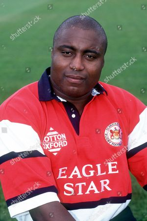 STEVE OJOMOH GLOUCESTER ALLIED DUNBAR PREMIERSHIP RUGBY UNION 1998/9 Great Britain Gloucester
