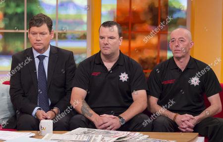 Nick Howard, Paul Coomber and Steve Richards.
