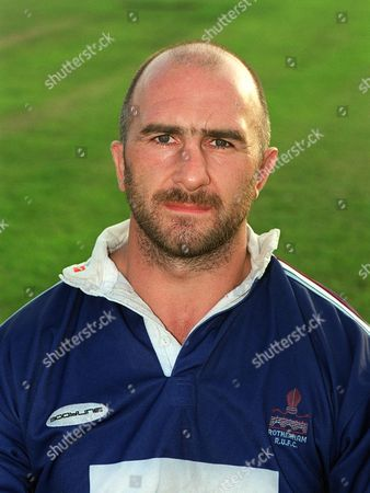 John Dudley - Rotherham RFC 1999/2000 Allied Dunbar Premiership 1/9/99 Great Britain Rotherham
