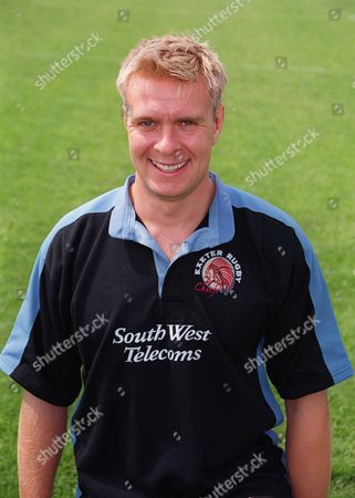 Sam Howard - Exeter Photocall 21/08/99 Rugby Union Allied Dunbar Premiership 1999/2000 Great Britain Exeter