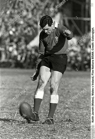 Keith Jarrett (Wales) Wales v Ireland Five Nations 8/3/69 Great Britain Cardiff