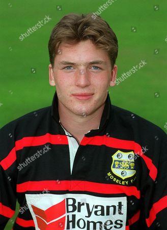 Jamie Quinn - Moseley Allied Dunbar Premiership 1999/2000 16/8/99 Great Britain Moseley