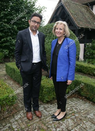 Sathnam Sanghera and Gill Hornby