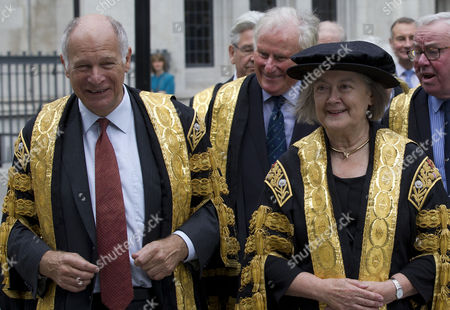 Lord Neuberger, President of the Supreme Court, and Lady Hale, Deputy President of the Supreme Court