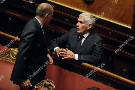 Enrico Letta, Pier Ferdinando Casini
