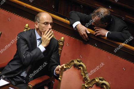 Enrico Letta, Roberto Calderoli