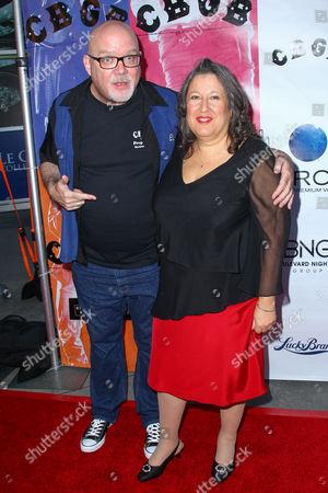 Stock Photo of John Holmstrom and Lisa Kristal Burgman