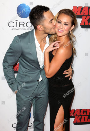 Carlos Pena Jr and Alexa Vega